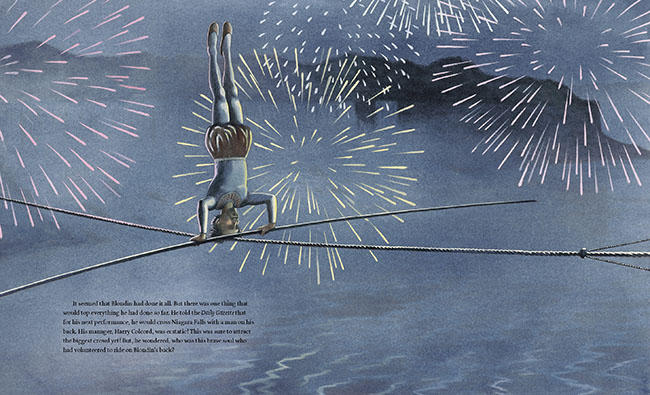 Crossing Niagara, written and illustrated by Matt Tavares